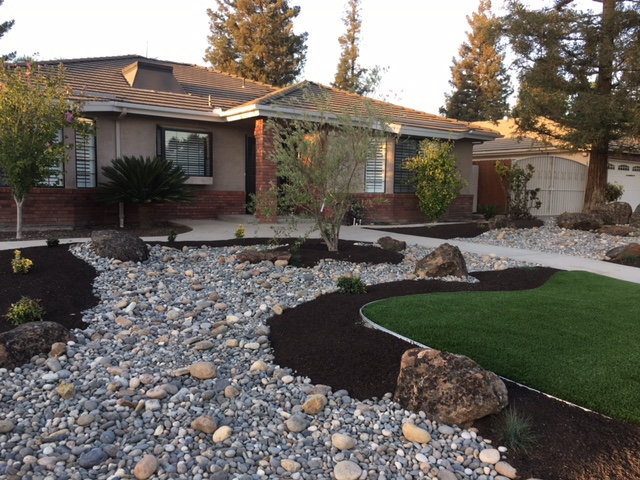 Landscaping after pic