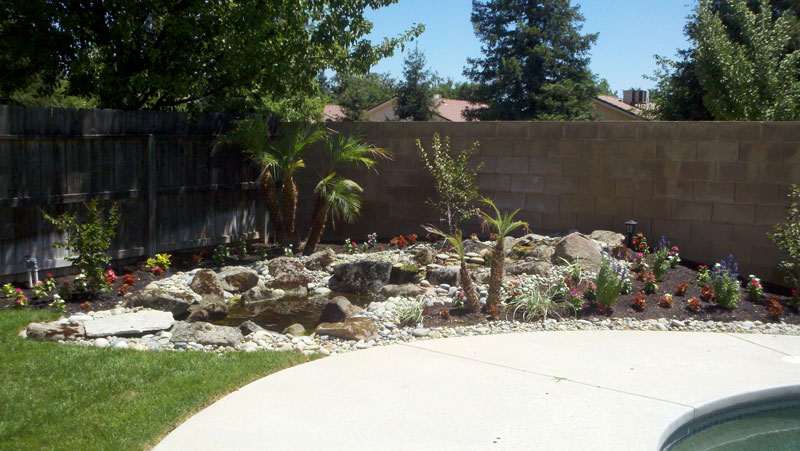 Landscaping after Anderson Landscaping