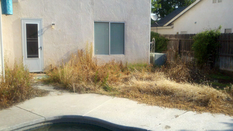 Before Anderson Landscaping